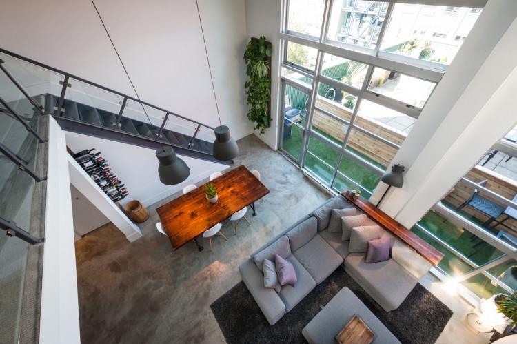 modern loft vintage interior design (7)