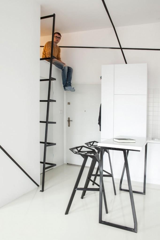modern monotone 26 sq mts apartment  (12)