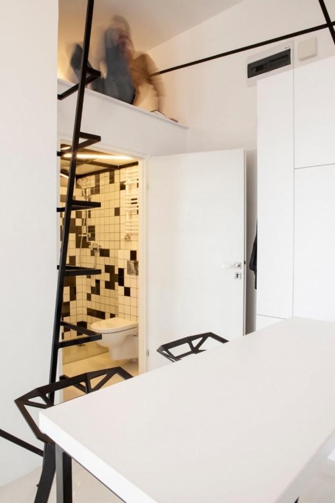 modern monotone 26 sq mts apartment  (13)