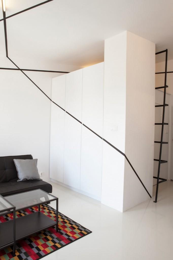 modern monotone 26 sq mts apartment  (2)