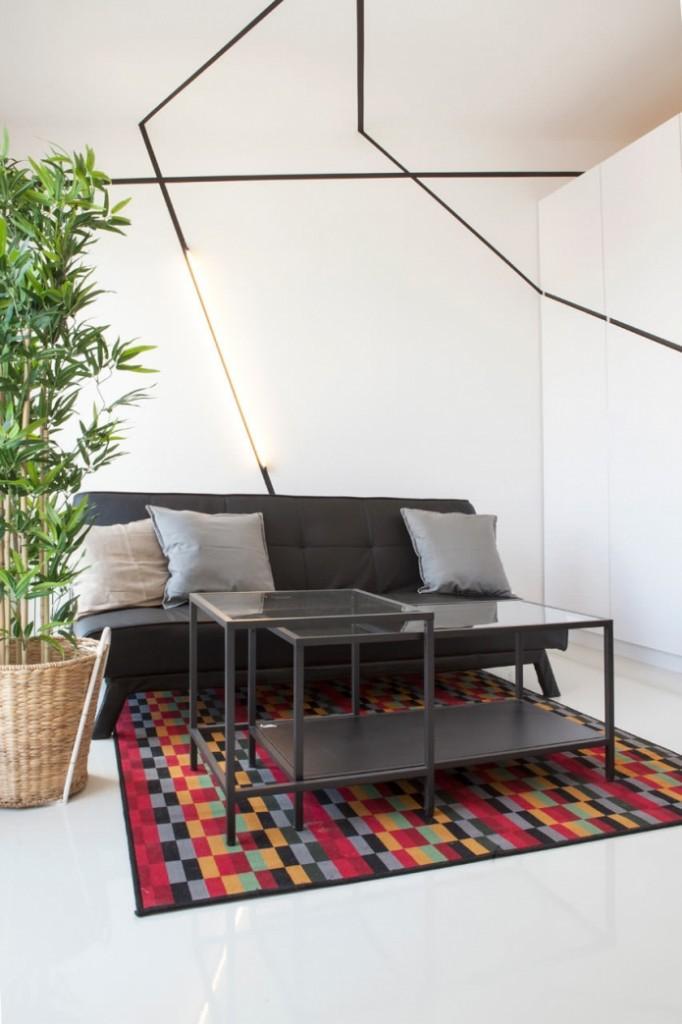 modern monotone 26 sq mts apartment  (5)