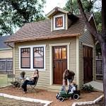 บ้านไม้สไตล์ลอฟ ความอบอุ่นขนาดกะทัดรัดสำหรับครอบครัวเริ่มต้น