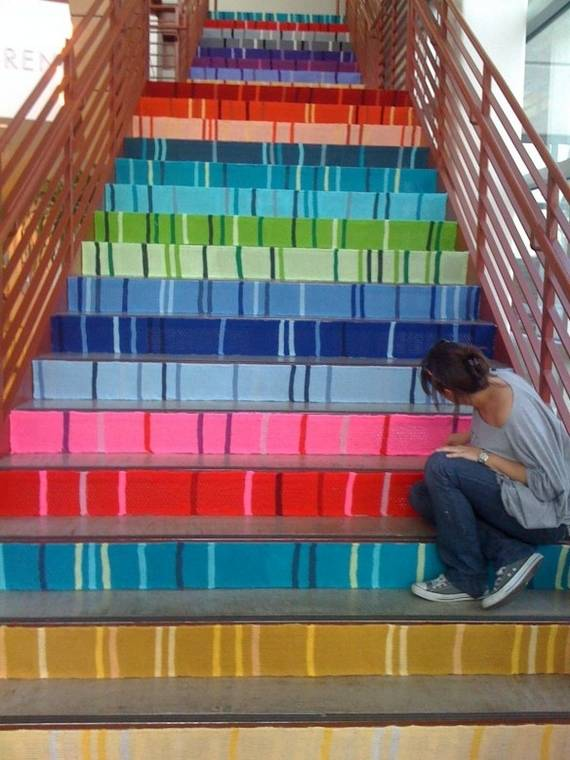 top-25-home-stairs-decorating-diy-projects (8)