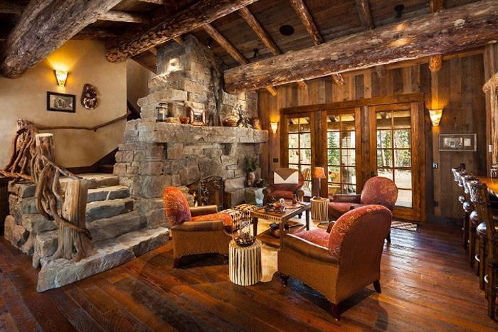 10 rustic living room interior design ideas (1)