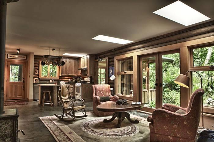 10 rustic living room interior design ideas (10)