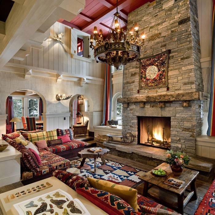 10 rustic living room interior design ideas (2)