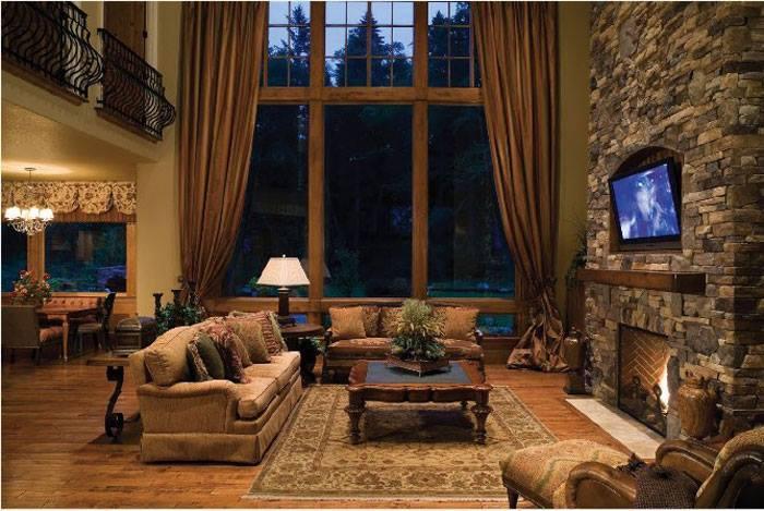 10 rustic living room interior design ideas (3)