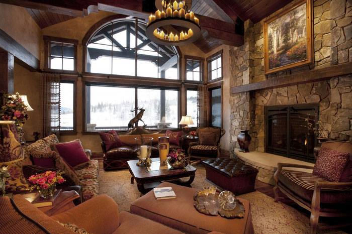 10 rustic living room interior design ideas (5)