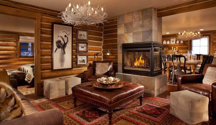 10 rustic living room interior design ideas (7)
