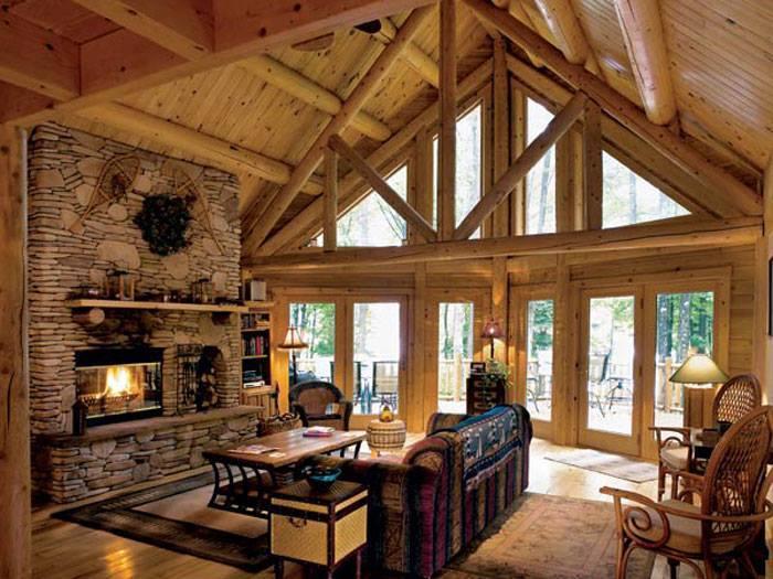 10 rustic living room interior design ideas (9)