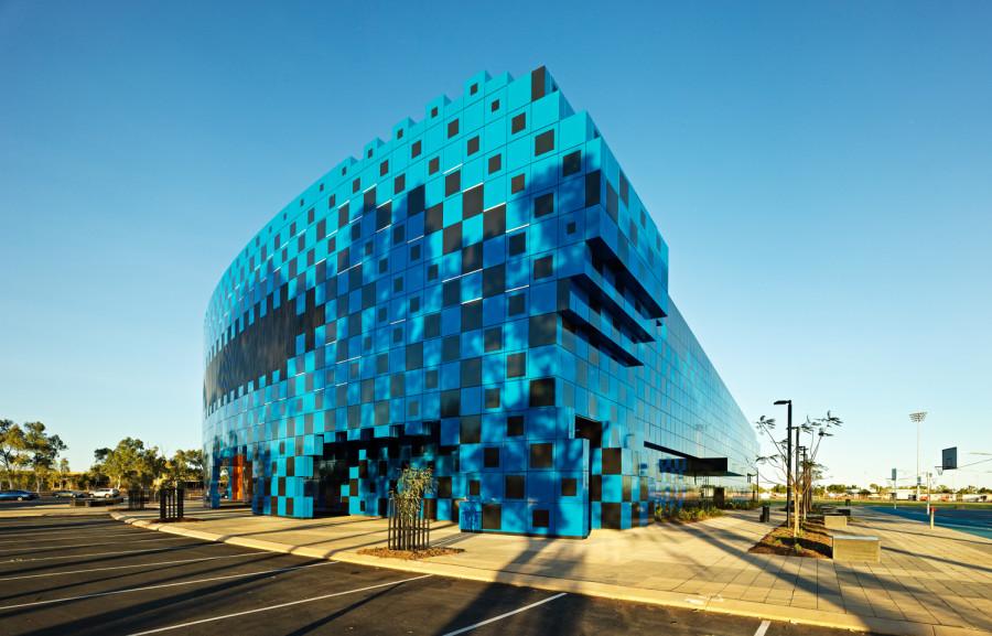 Wanangkura Stadium Port Hedland Western Australia  Architects: A