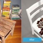 """รวม 15 ไอเดีย Before – After เพิ่มสีสันและสไตล์เก๋ๆ ให้กับ """"เก้าอี้"""" จืดๆ"""
