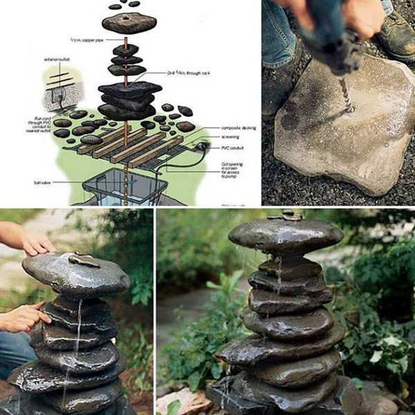 26 rock and stone for garden decorations  (13)