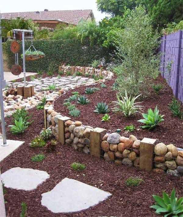 26 rock and stone for garden decorations  (2)
