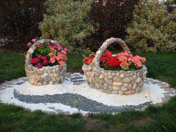 26 rock and stone for garden decorations  (25)