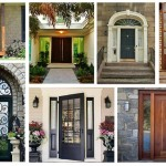 """33 ไอเดีย """"ประตูบ้าน"""" สวยๆ ที่จะทำให้เพื่อนบ้านต้องอิจฉา!!"""