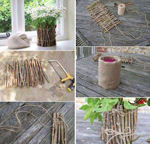 38-diy-log-ideas for-rustic-style (17)