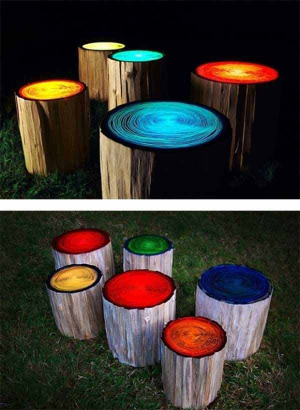 38-diy-log-ideas for-rustic-style (38)