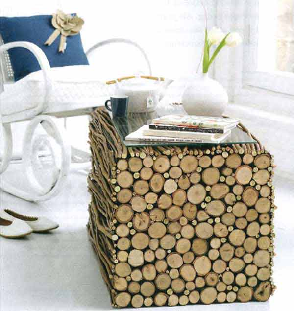 38-diy-log-ideas for-rustic-style (39)