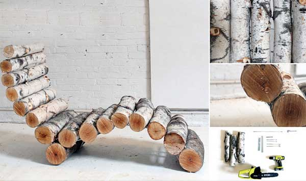 38-diy-log-ideas for-rustic-style (8)