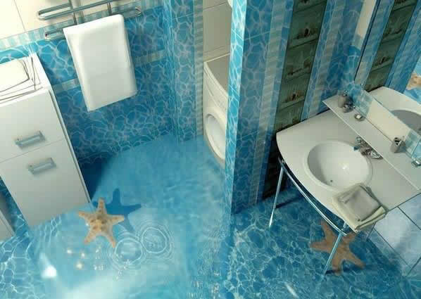 3D Floor Designs That Will Give You Bathroom Envy (3)