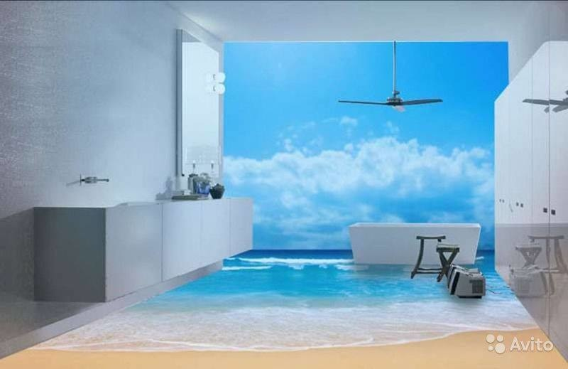 3D Floor Designs That Will Give You Bathroom Envy (4)