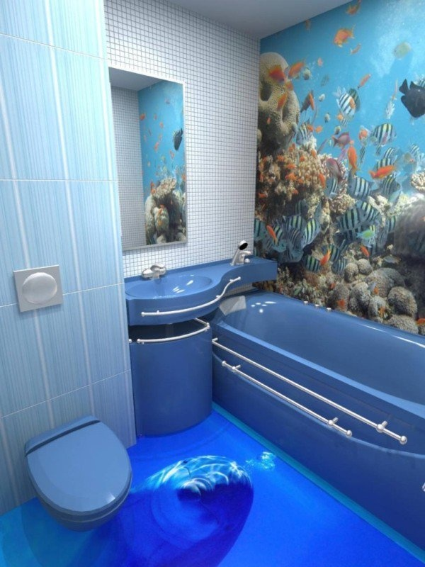 3D Floor Designs That Will Give You Bathroom Envy (6)
