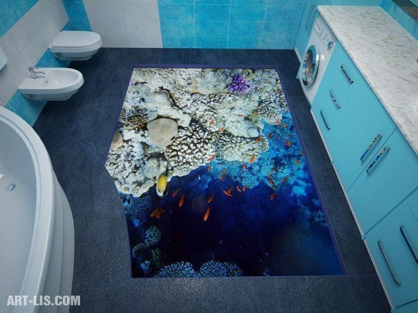 3D Floor Designs That Will Give You Bathroom Envy (8)