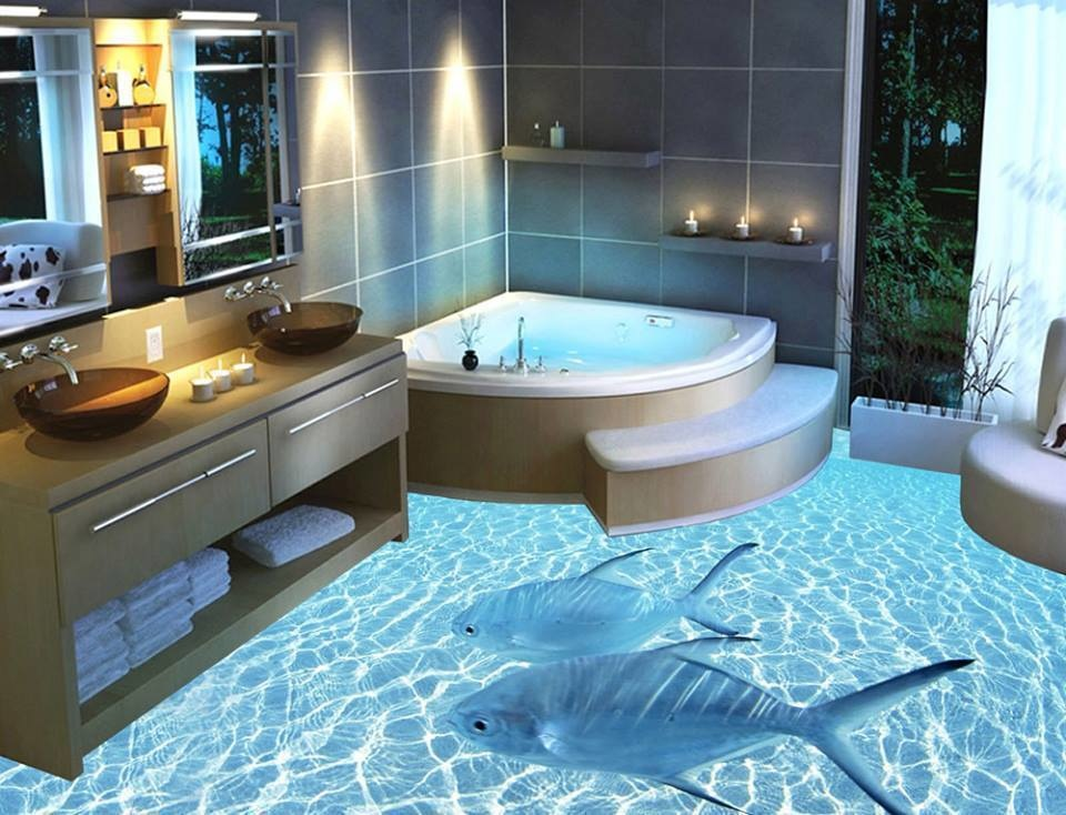 3D Floor Designs That Will Give You Bathroom Envy (9)