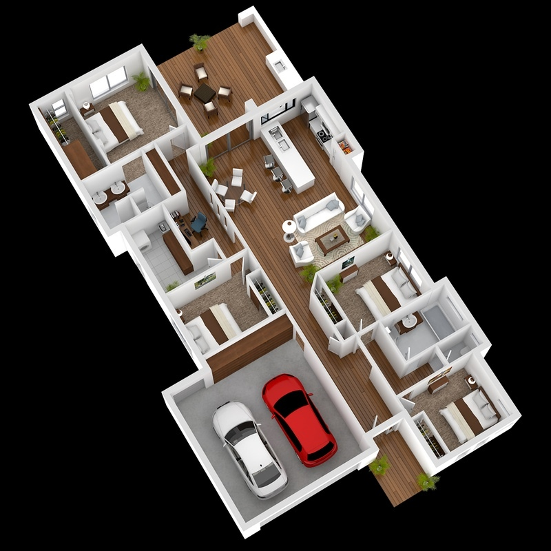 50-four-4-bedroom-apartmenthouse-plans (22)