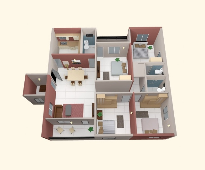 50-four-4-bedroom-apartmenthouse-plans (39)
