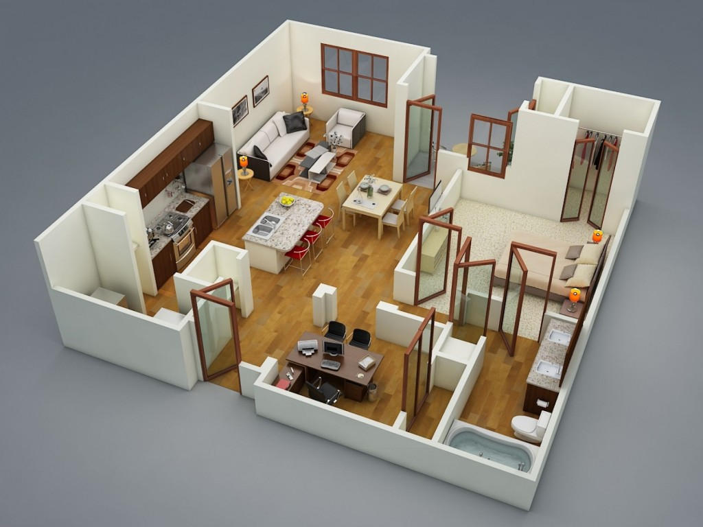 50-one-1-bedroom-apartmenthouse-plans (1)