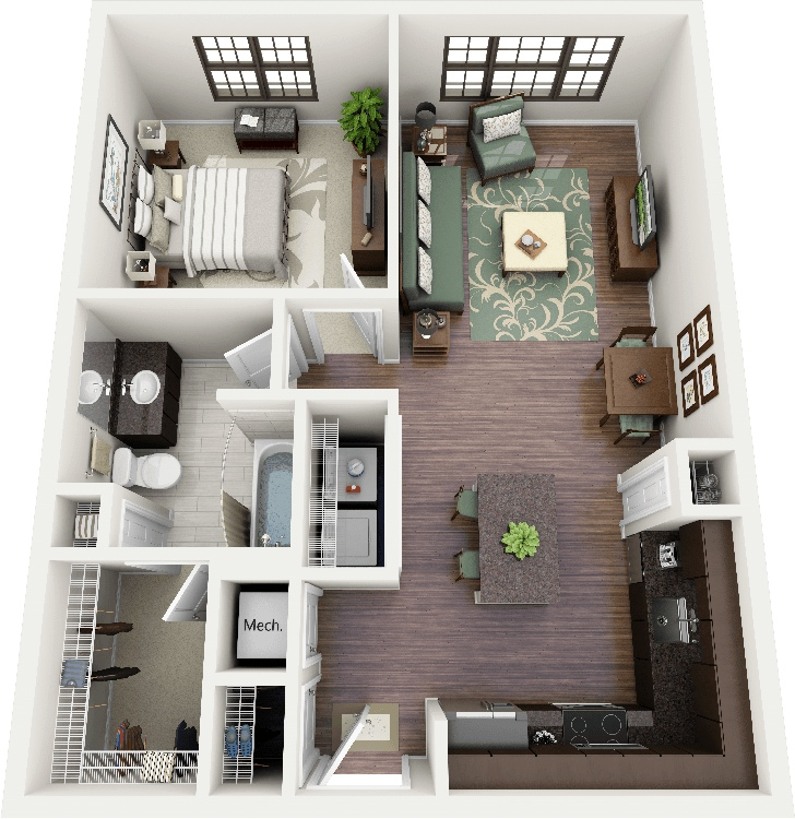 50-one-1-bedroom-apartmenthouse-plans (18)