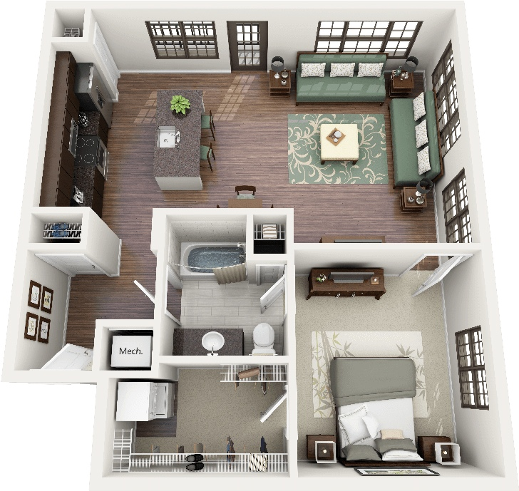50-one-1-bedroom-apartmenthouse-plans (19)