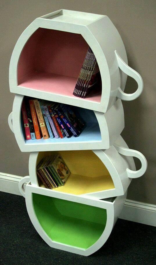 9 creative bookshelves   (9)