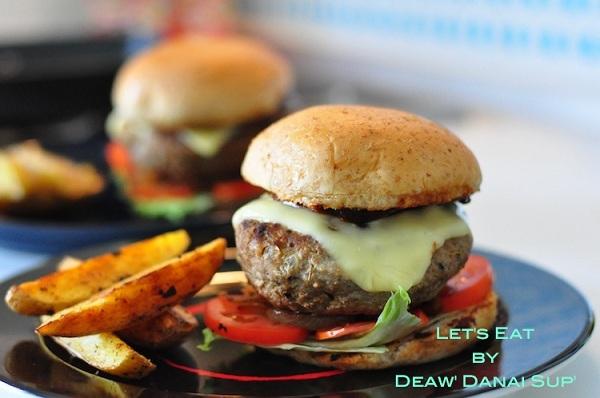 homemade pork cheese burger recipe (1)