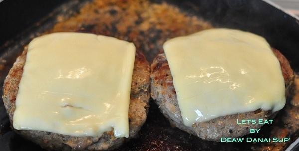 homemade pork cheese burger recipe (10)