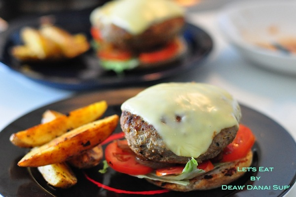 homemade pork cheese burger recipe (12)
