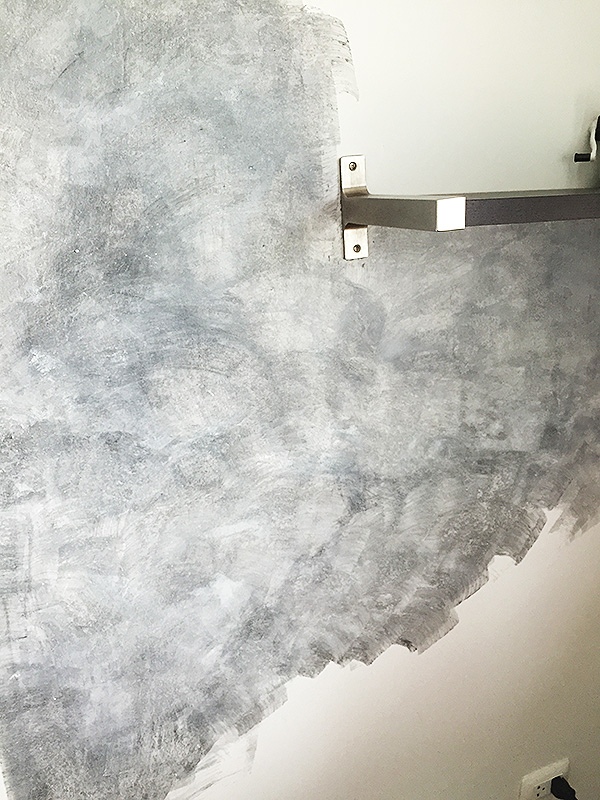 how to decorate concrete wallpaper without concrete materials (11)