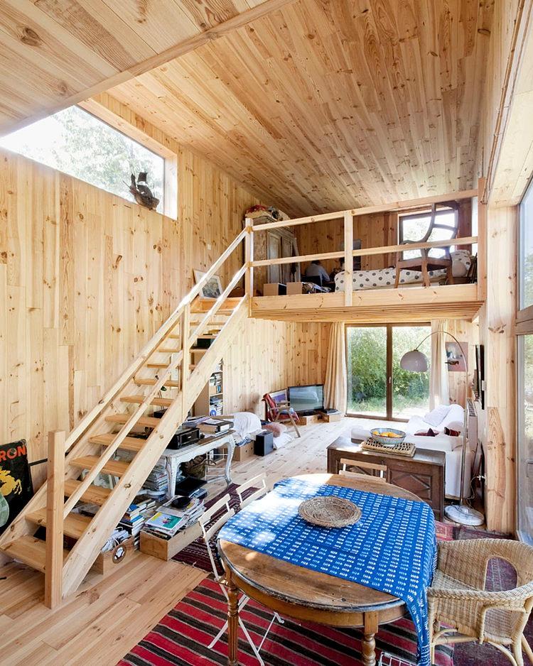 minimalist wooden residence (2)