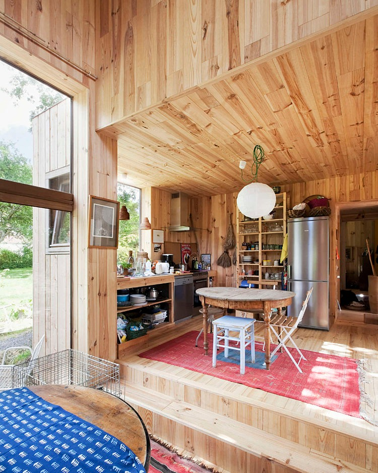 minimalist wooden residence (3)
