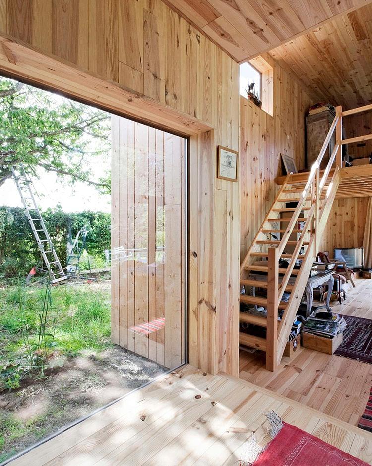 minimalist wooden residence (4)