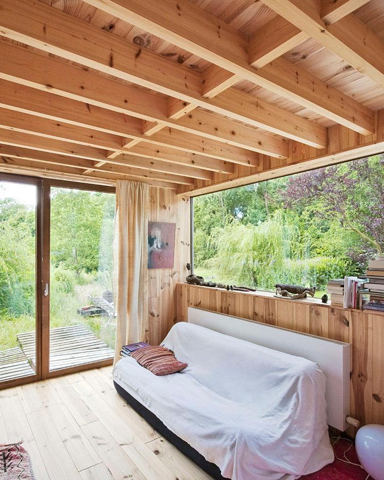 minimalist wooden residence (7)