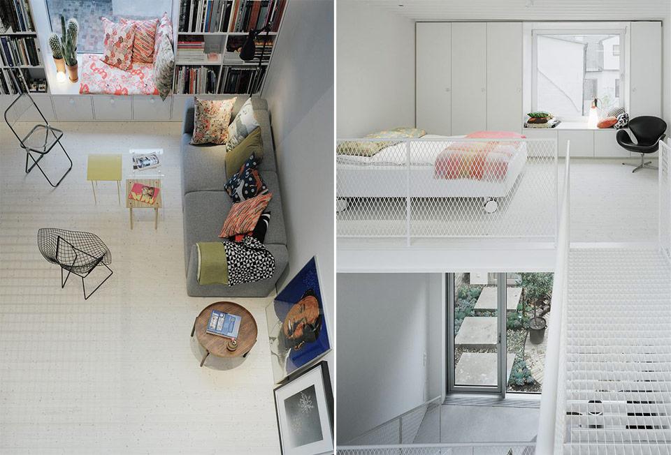 narrow three-level modern minimal house (6)