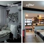 Review : รีโนเวทห้องนอนใหม่ให้ครบครัน จะทำงานก็ได้ นอนหลับก็ดี