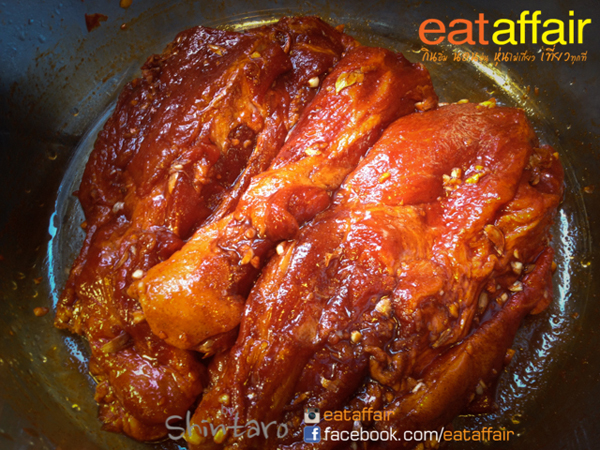roasted red pork with steamed rice recipe (6)