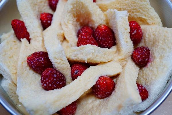 strawberry french toast homemade recipe (8)
