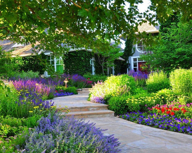 12 luxurious garden decorating ideas (5)