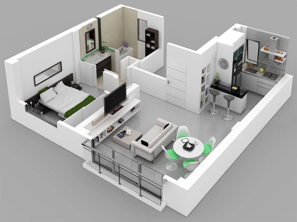 8 modern 3d floor plans (1)