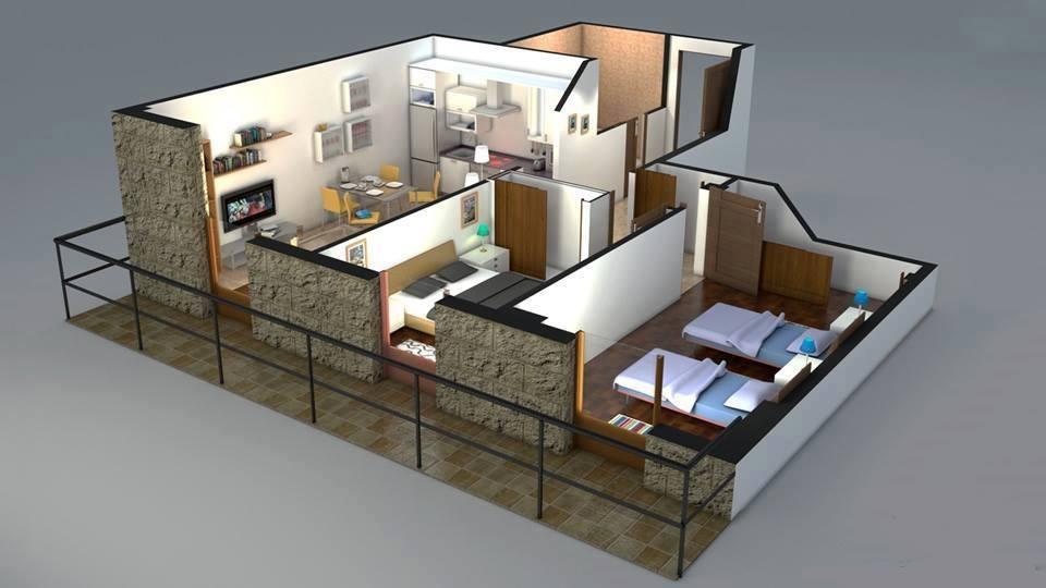 8 modern 3d floor plans (4)